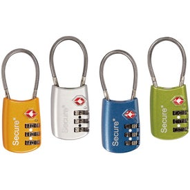 Monogrammed Cable Lock'r