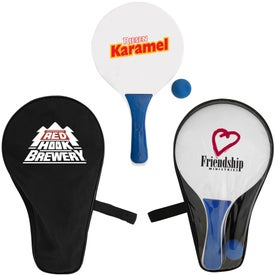 The Cabo Paddle Ball Set Branded with Your Logo