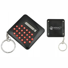 Calculator Keyring with Your Logo