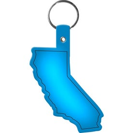 Custom California Key Tag