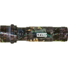 Camouflage Aluminum LED Flashlight