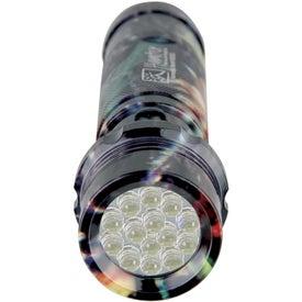 Camouflage Aluminum LED Flashlight for Advertising