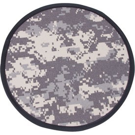Camouflage Flexible Flyer Imprinted with Your Logo