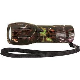 Camouflage Mini Aluminum LED Flashlight for Your Organization