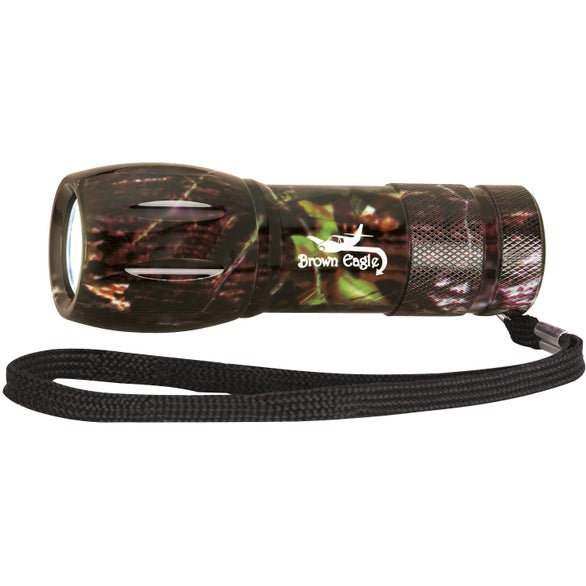 Camouflage Camouflage Mini Aluminum LED Flashlight