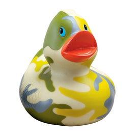 Monogrammed Camouflage Rubber Ducks