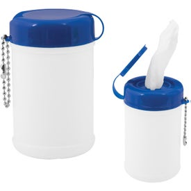 Canister Sanitizer Imprinted with Your Logo
