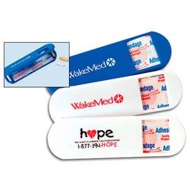 Capsule Bandage Dispenser Pill Holder