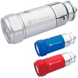 Advertising Car Charging Flashlight