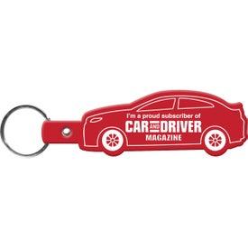 Advertising Car Key Tag