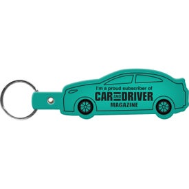 Branded Car Key Tag