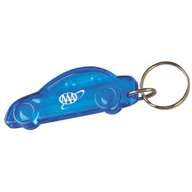Car Keychain with Your Slogan
