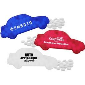 Monogrammed Car Mint Dispenser