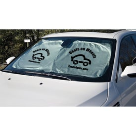 Custom Car Sun Shade for your School