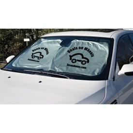 Custom Car Sun Shade for your School