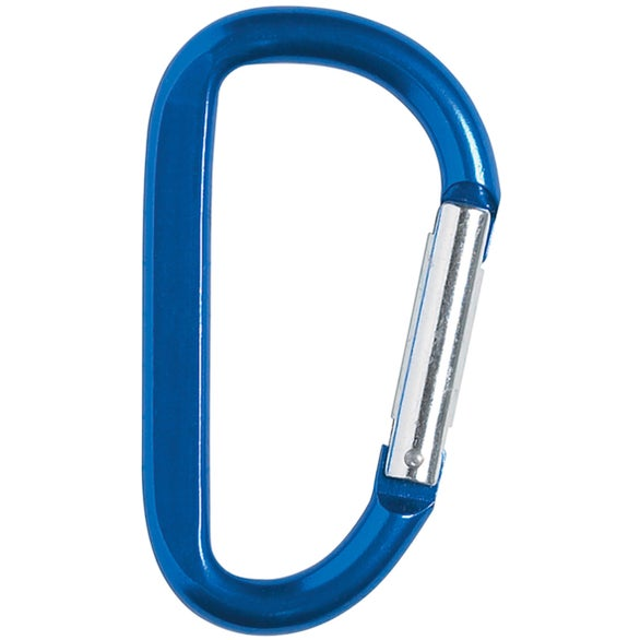 Blue Carabiner with Strap