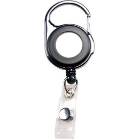 Personalized Carabiner Badge Holder