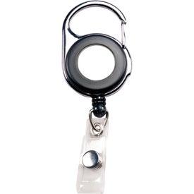 Personalized Carabiner Badge Holder