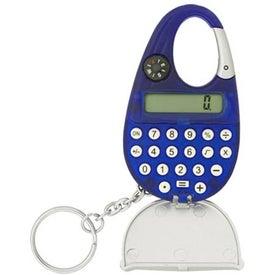 Customized Carabiner Calculator Keychain