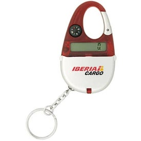 Carabiner Calculator Keychain with Your Logo