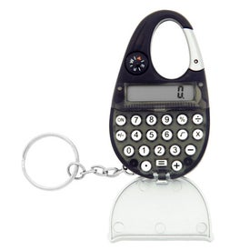 Carabiner Calculator Keychain for Your Company