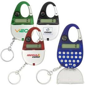 Carabiner Calculator Keychain