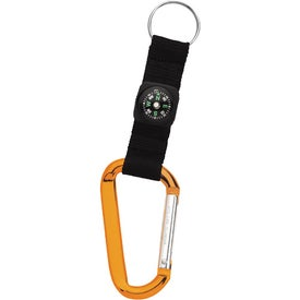 Carabiner with Compass for Marketing