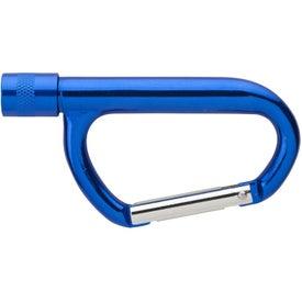 Customized Carabiner LED Flashlight
