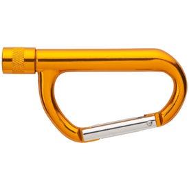 Promotional Carabiner LED Flashlight