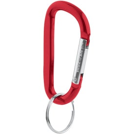 Carabiner Key Tag for Your Company