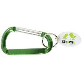 Carabiner Keytag Branded with Your Logo