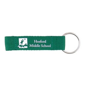 Carabiner with Printed Lanyard Printed with Your Logo