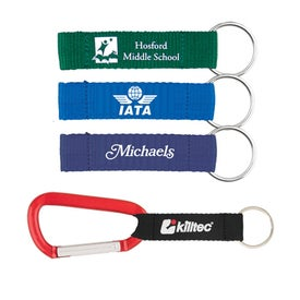 Carabiner with Printed Lanyard