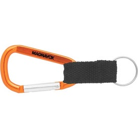 Carabiner with Blank Lanyard for Your Church
