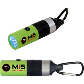 Personalized Carabiner LED Flashlight