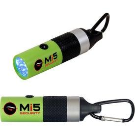 Personalized Carabiner LED Flashlight