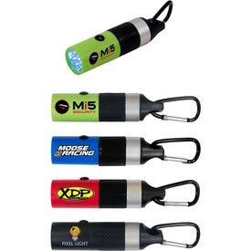 Branded Carabiner LED Flashlight