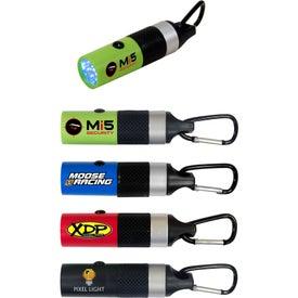 Branded Carabiner LED Flashlight