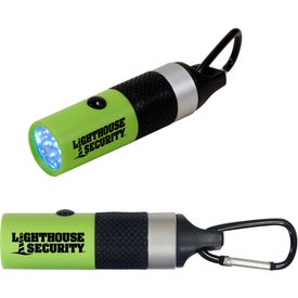 Personalized Carabiner LED Flashlights