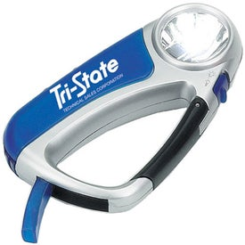 Carabiner Light Whistle