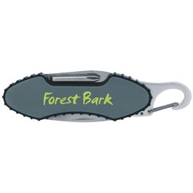 Logo Carabiner Pocket Knife