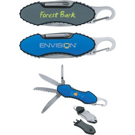 Carabiner Pocket Knife with Your Slogan