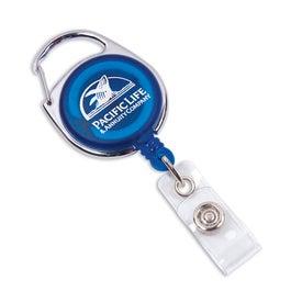 Promotional Carabiner Retractable Clip