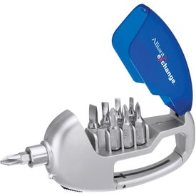 Carabiner / Screwdriver Set with Light for Your Church
