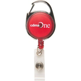 Carabiner Secure-A-Badge for Your Company