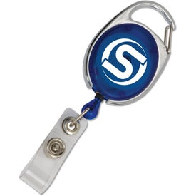 Carabiner Style Retractable Badge Holder for Your Company