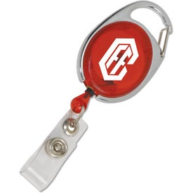 Carabiner Style Retractable Badge Holder for your School