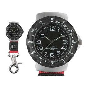 Custom Carabiner Style Clip Watch