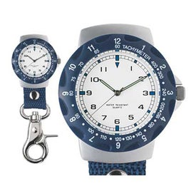 Promotional Carabiner Style Unisex Clip Watch