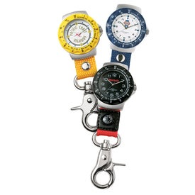 Carabiner Style Unisex Clip Watch